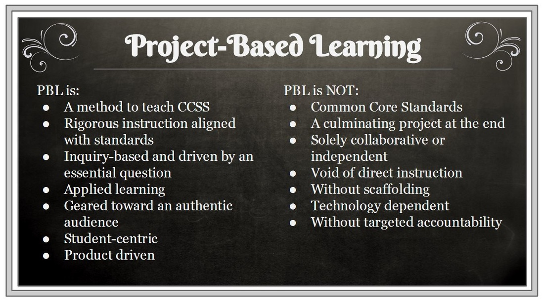 Project-Based Learning - Golden Valley Instructional